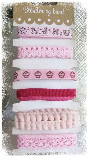 Bilde av Båndpakke babyjente (6)