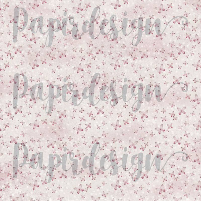 Bilde av PD 2100579 Sommerfugl, rosa ( 25 ark)