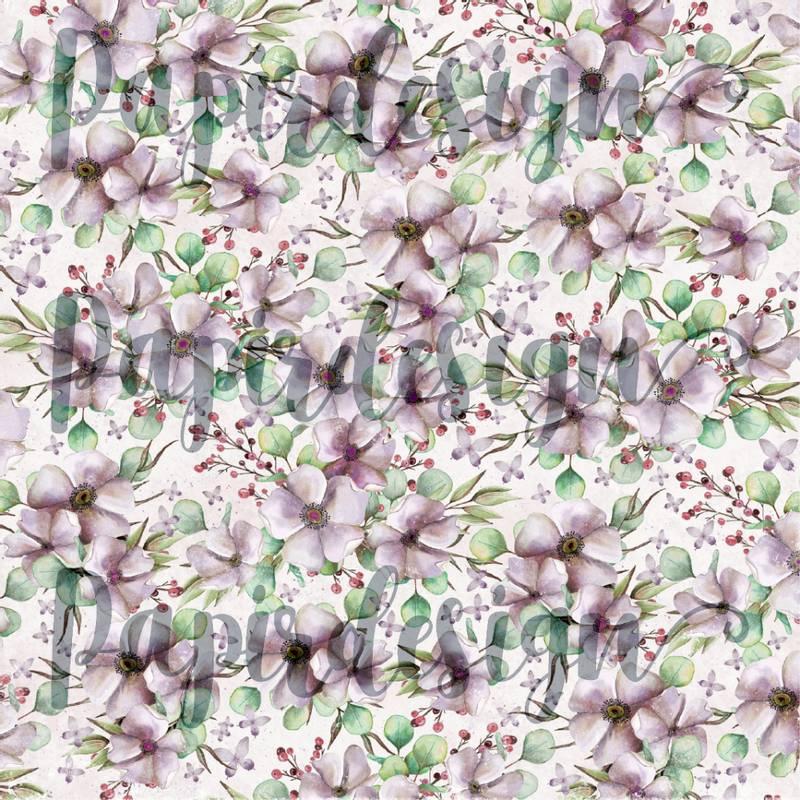 Bilde av PD 2100587 Blomsterfryd, lilla ( 25 ark)