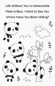 Bilde av MFT Panda Pals stamp set