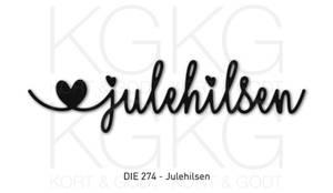 Bilde av Kort og Godt Die 274 - Julehilsen
