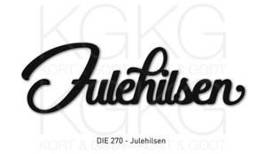 Bilde av Kort og Godt Die 270 - Julehilsen