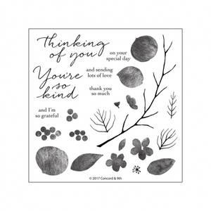 Bilde av Concord & 9th Beautiful Branches Stamp Set