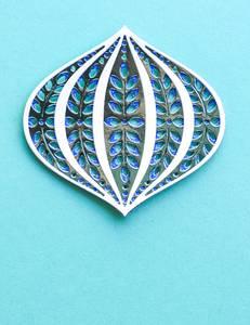 Bilde av Birch Press Design Marisol Ornament Dies