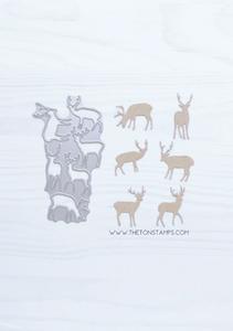 Bilde av The Ton Deer Cover Die