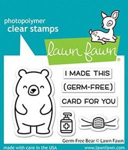 Bilde av Lawn Fawn Germ-Free Bear Dies