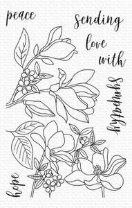 Bilde av MFT Floral Focus stamp set