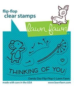 Bilde av Lawn Fawn Dandy Day Flip-Flop Stamp Set