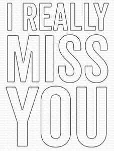 Bilde av MFT I Really Miss You die