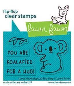 Bilde av Lawn Fawn I Love You (calyptus) Flip-Flop Stamp