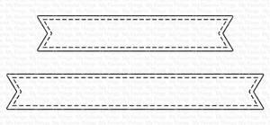 Bilde av MFT Essential Stitched Sentiment Strips dies