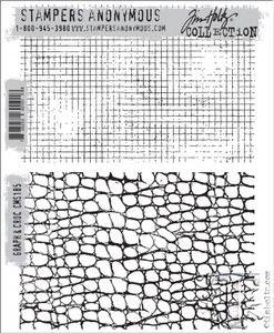Bilde av Stampers Anonymous Graph & Croc Stamp Set
