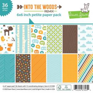 Bilde av Lawn Fawn Into the Woods Remix Petite Paper Pack