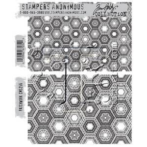 Bilde av Stampers Anonymous Patchwork Stamp Set