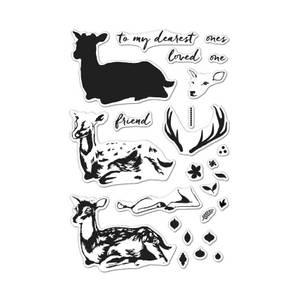 Bilde av Hero Arts Color Layering Deer Stamp Set
