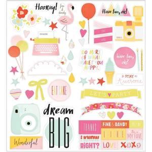 Bilde av American Crafts Dear Lizzy Accent & Phrase