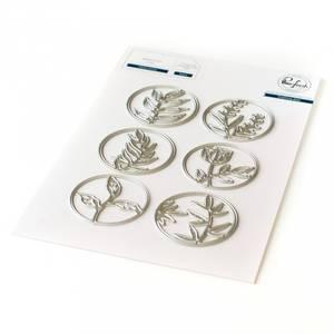 Bilde av Pinkfresh Studio Floral Circles die set