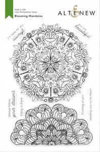 Bilde av Altenew Blooming Mandalas Stamp Set