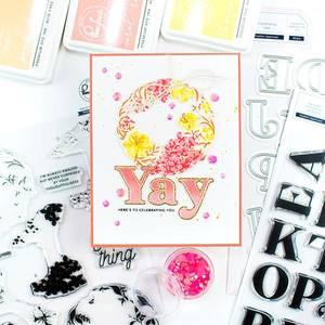 Bilde av Pinkfresh Studio Heather Lowercase stamp set