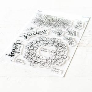 Bilde av Pinkfresh Studio Eucalyptus fantasy stamp set