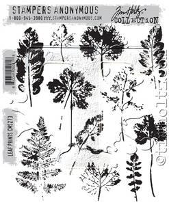 Bilde av Stampers Anonymous Leaf Prints Stamp Set