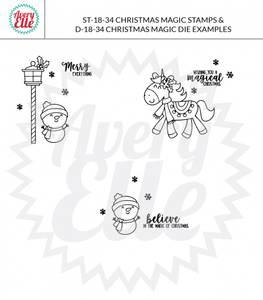 Bilde av Avery Elle Christmas Magic Clear Stamps