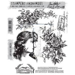 Bilde av Stampers Anonymous Lady Rose Stamp Set