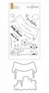 Bilde av Altenew Baby Shower Stamp & Die Bundle