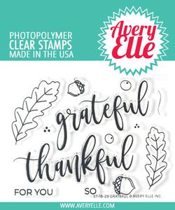 Bilde av Avery Elle Grateful Clear Stamps