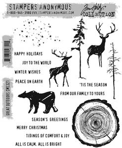 Bilde av Stampers Anonymous Great Outdoors Stamp Set