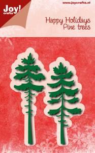 Bilde av Joy! crafts Happy Holidays Pine trees dies