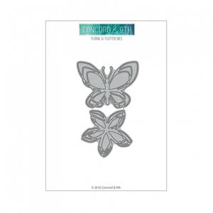 Bilde av Concord & 9th Floral & Flutter Dies