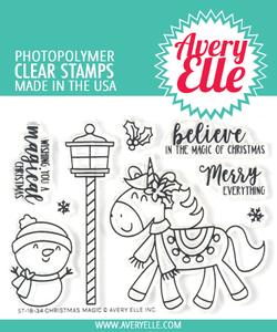 Bilde av Avery Elle Christmas Magic Die