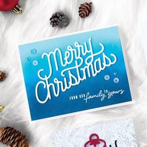 Bilde av Hero Arts Christmas Message Fancy Die