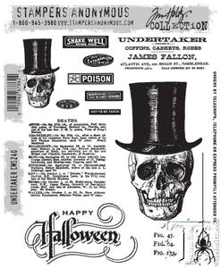 Bilde av Stampers Anonymous Undertaker Stamp Set