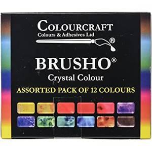 Bilde av Colourcraft Brusho Set 12