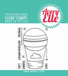 Bilde av Avery Elle Peek-A-Boo Balloon Clear Stamps