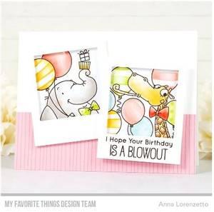 Bilde av MFT Picture Perfect Party Animals stamp set