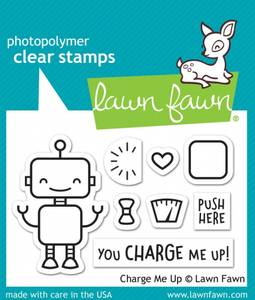 Bilde av Lawn Fawn Charge Me Up Stamp Set