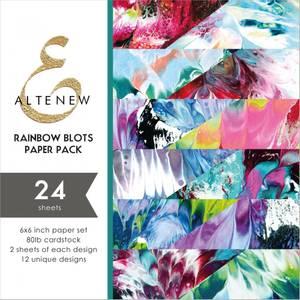 Bilde av Altenew Rainbow Blots Paper Pack
