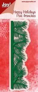 Bilde av Joy! crafts Happy Holidays Pine Branches die