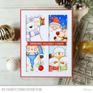 Bilde av MFT Christmas sELFies stamp set