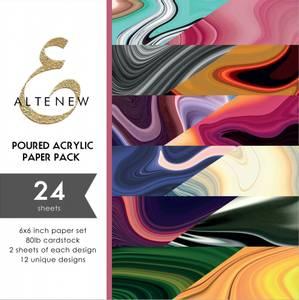 Bilde av Altenew Poured Acrylic Paper Pack