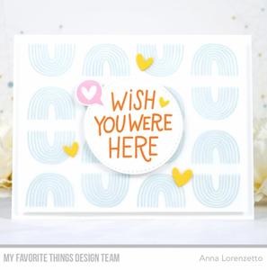 Bilde av MFT I Miss Your Hugs stamp set