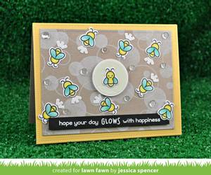 Bilde av Lawn Fawn Little Fireflies Stamp Set