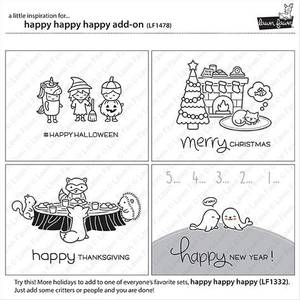 Bilde av Lawn Fawn Happy Happy Happy - Add-On