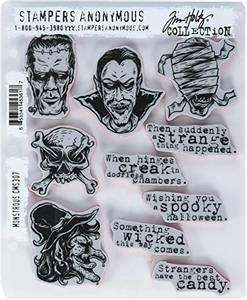 Bilde av Stampers Anonymous Monstrous Stamp Set