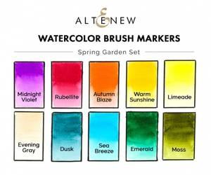 Bilde av Altenew Watercolor Brush Markers - Spring Garden