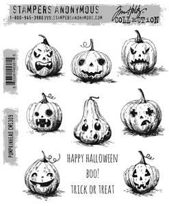 Bilde av Stampers Anonymous Pumpkinhead Stamp Set