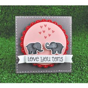 Bilde av Lawn Fawn Love You Tons Stamp Set